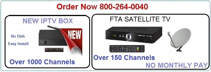 FTA and International TV receivers, Dish and LNB packages